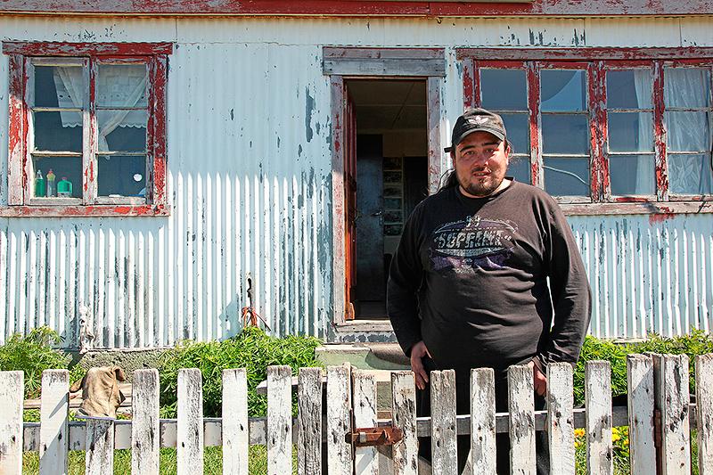Jimi, éleveur de moutons en Patagonie, Chili - 2014