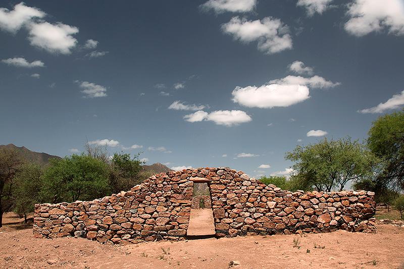 Kallanka, ruines Incas d'El Shinkal, Londres, Argentine - 2014
