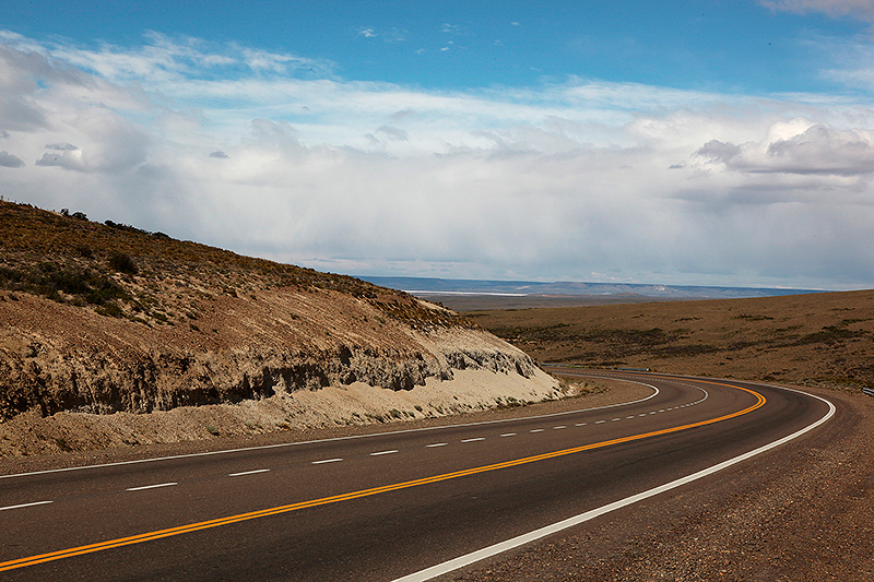 Exceptionnel ! Un virage sur la ruta 3, Argentine - 2014
