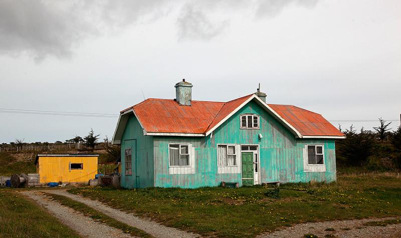 Maison typique de la Terre de Feu, Chili - 2014