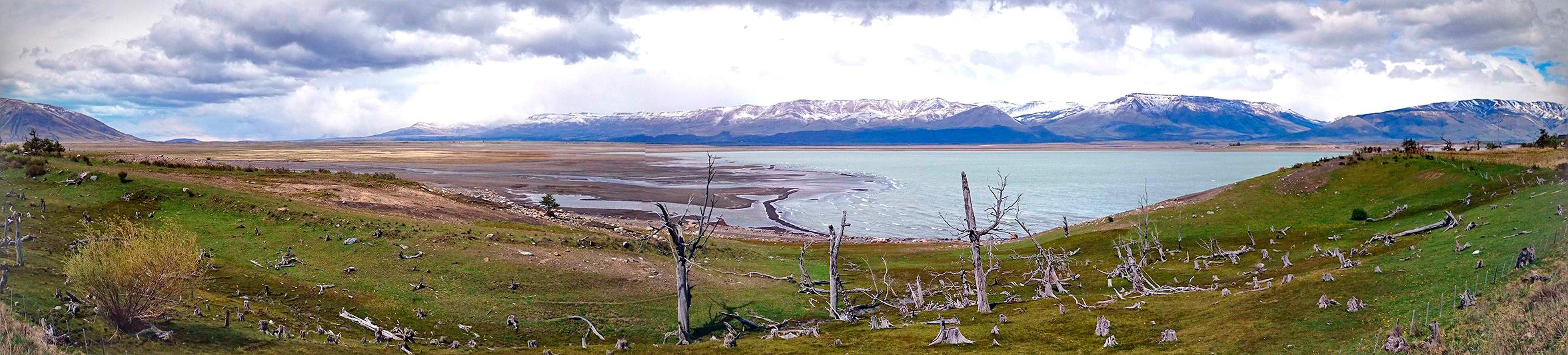 """Paysage du parc national """"Los Glaciares"""", El Calafate, Argentine - 2014"""