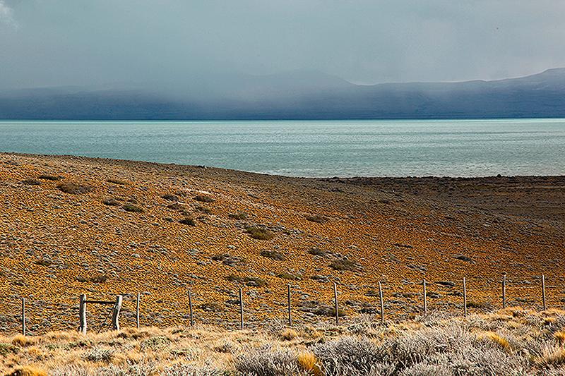 Paysage du lac Viedma aux environs d'El Chalten, Argentine - 2014