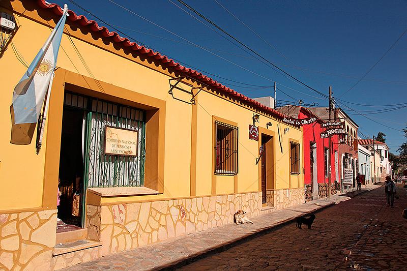 Les ruelles pavées et colorées de Humahuaca, Argentine - 2014