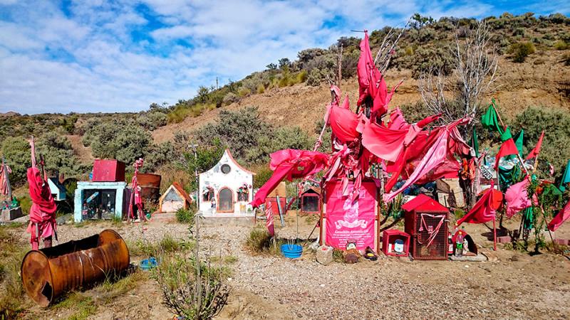 Sanctuaire en hommage à Gauchito Gil, Argentine - 2014