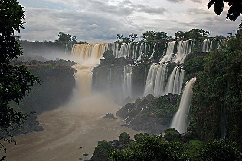 Les chutes d'Iguazu, Puerto Iguazu, Argentine - 2014