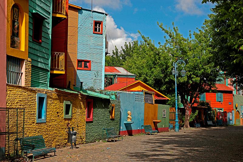 El Caminito, quartier de la Boca, Buenos Aires, Argentine - 2014