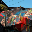 Fresque murale, Valparaiso, Chili - 2014, photo 01
