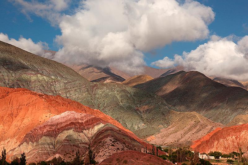 Les montagnes aux sept couleurs, Purmamarca, Argentine - 2014