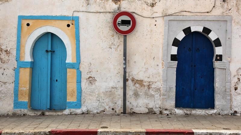 Portes traditionnelles Tunisiennes, El Haouaria - Tunisie 2012