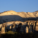 Cheminées de fées, vallée de Pasabag (Paşabağ Vadisi), Cappadocia, Turquie, 2005