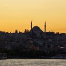 Istanbul, coucher de soleil sur la Corne d'Or, Turquie - 2009
