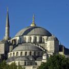 Coupoles de la mosquée bleue, Istanbul, Turquie - 2009