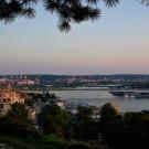 Le Danube à Belgrade - Serbie - 2009
