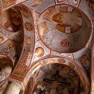 Eglise à la pomme (Elmali kilise) XI ème - XIIème siècle, musée en plein air - vallée de Göreme, Cappadocia, Turquie, 1999