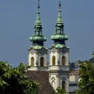 L'église sainte Anne, Budapest, Hongrie - 2009