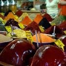 Epices dans le bazar Egyptien, Istanbul, Turquie - 2009