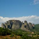 Kastraki, pitons rocheux des Météores, Grèce - 2009