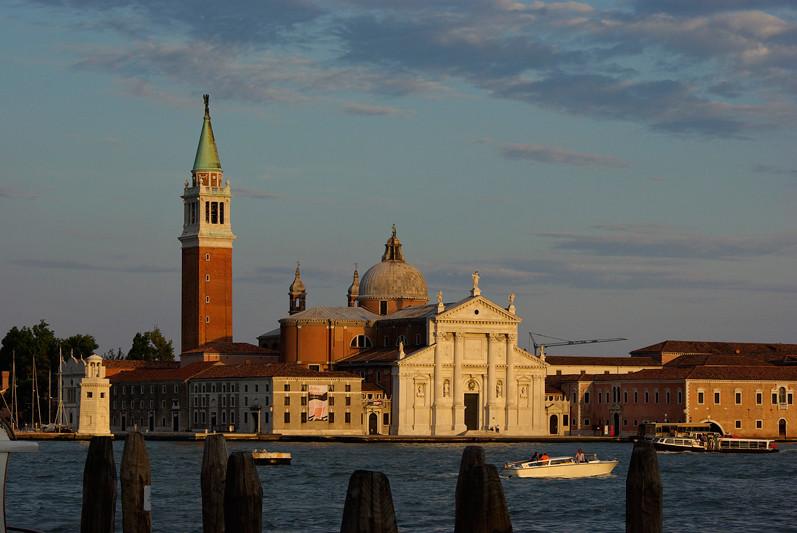 Venise, l'île de San Giorgio Maggiore, Venise, Italie - 2009