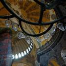 Intérieur de la basilique Sainte Sophie, Istanbul, Turquie - 2009