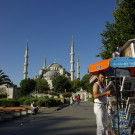La mosquée bleue, Istanbul, Turquie - 2009
