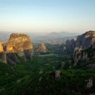 Grèce, Kastraki, formations rocheuses des Météores - 2009