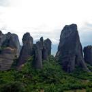 Grèce - Kastraki, pitons rocheux des Météores - 2009
