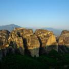Formations rocheuses des Météores, Grèce - 2009