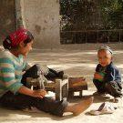 Portraits d'enfants - Yarkand, Xinjiang,Chine, 2005