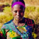 Portrait de jeune fille - Sur la route, Ethiopie, 2000