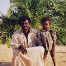 Père et son fils, vallée du Nil - Karaba, Soudan, 2000
