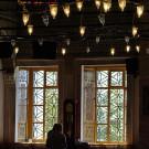 Instants de prière dans la mosquée bleue, Istanbul, Turquie - 2009