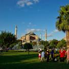 Sainte Sophie, le square de Sultanahmet, Istanbul, Turquie - 2009
