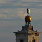 La tour de la douane de mer, Venise, Italie - 2009