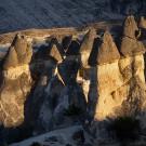 Cheminées de fées, vallée de Pasabag (Paşabağ Vadisi), Cappadoce, Turquie, 2005