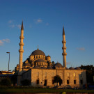 """Istanbul, la nouvelle mosquée """"Yeni cami"""", Turquie - 2009"""