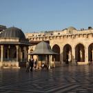 La cour de la grande mosquée d'Alep (mosquée des Omeyades), Syrie, 2010