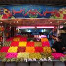 Boutique de légumes au vinaigre, souks de Damas, Syrie, 2010