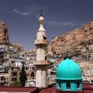 Le village de Maaloula où l'on parle encore l'Araméen, Syrie, 2010