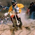 Enduro du Touquet, 1992 - Assis sur la selle, baisse de régime !