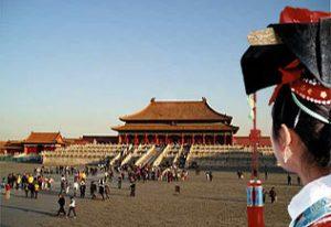 Pékin, le pavillon de l'harmonie suprême dans la cité interdite