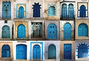 Photos de portes traditionnelles Tunisiennes