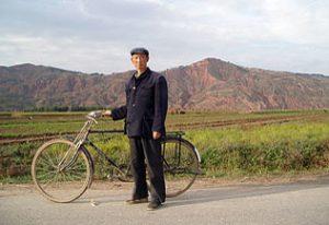 Portrait sur la route de Longxi, Chine, 2005