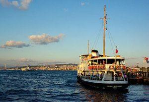 Le Vapur Mehmet Akif Ersoy à Sirkeci iskelesi, Istanbul