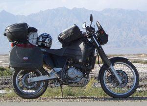 Suzuki 800DR, préparation raid et voyage