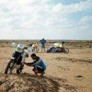 A la recherche de la dernière goutte d'essence, raid de l'amitié, Maroc -1995