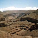 Relief minéral de l'atlas, raid de l'amitié, Maroc -1995
